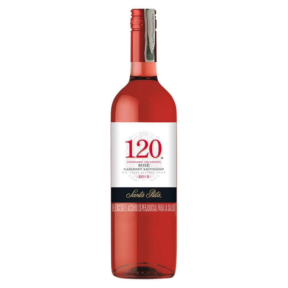 Vino rosado Santa Rita 120 botella