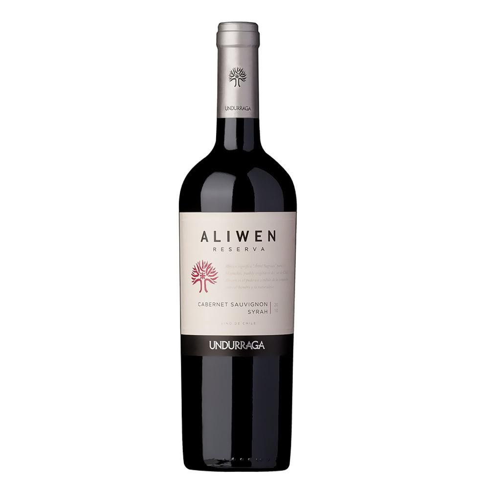Vino Aliwen cabernet syrah