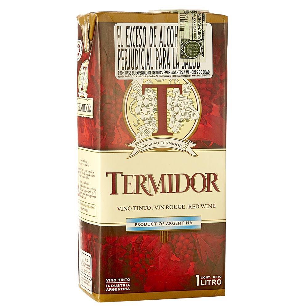 Vino tinto Tremidor tetra brick