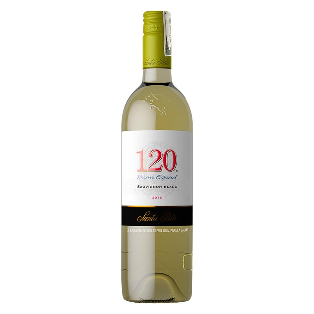 Vino blanco Santa Rita reserva sauvignon