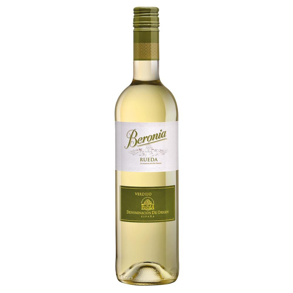 Vino blanco Beronia Verdejo Rueda botella