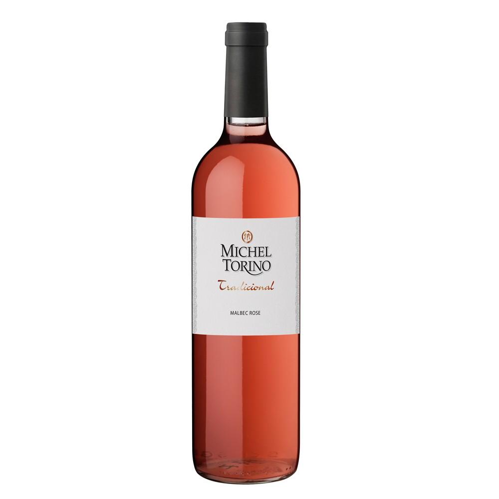 Vino michel torino tradicional rosado botella