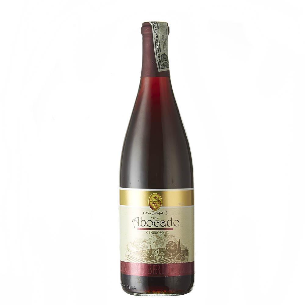 Vino abocado Grajales botella
