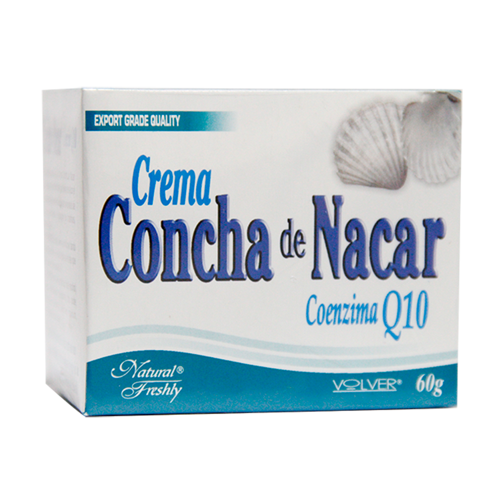 Crema De Concha De Nacar Pote
