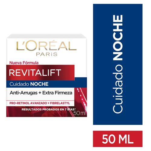Crema facial revitalift cuidado noche 50 mL
