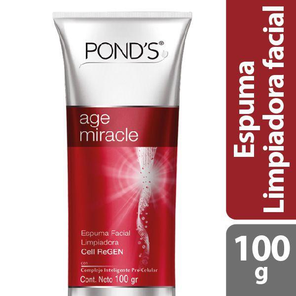 Espuma limpiadora facial age miracle