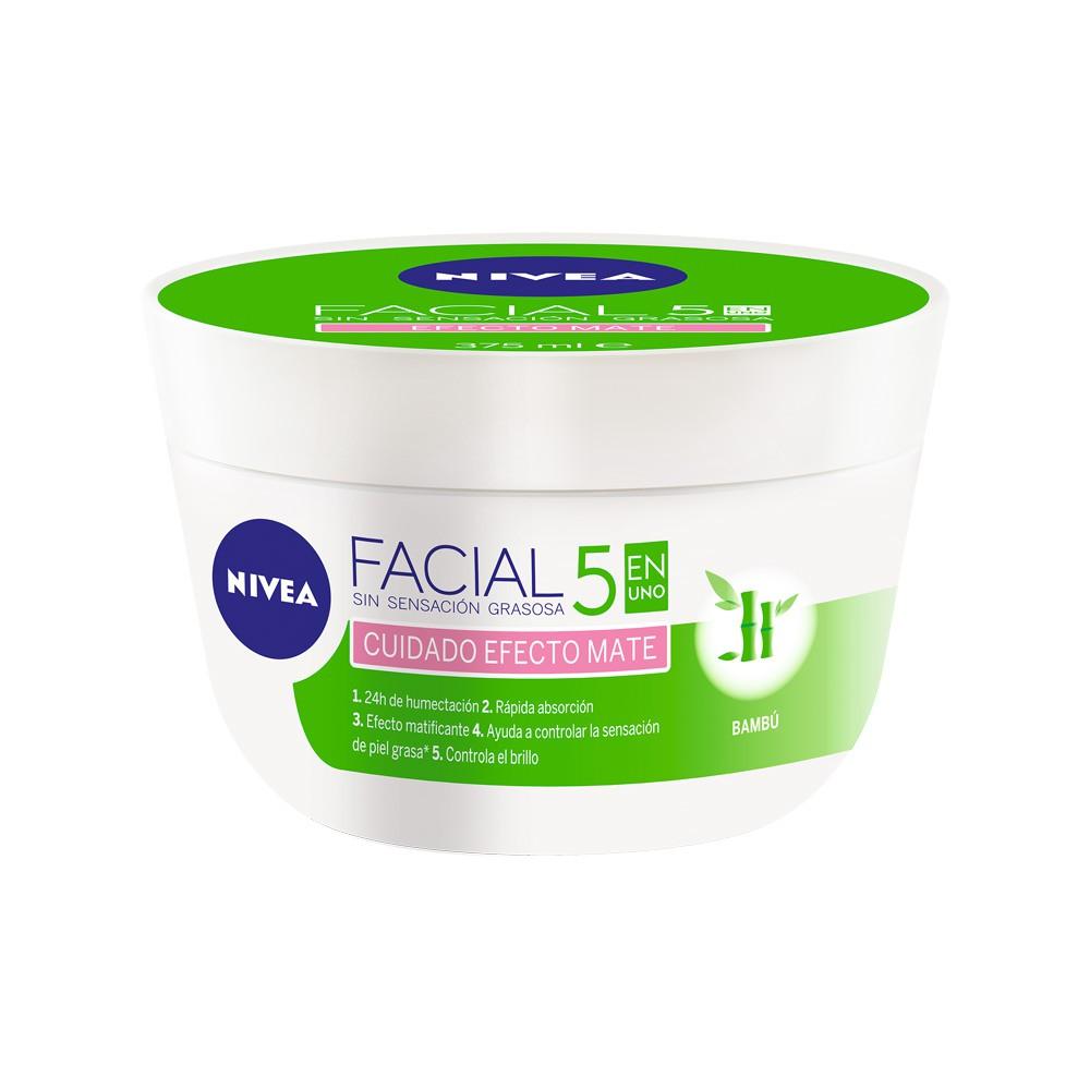 Crema facial 5 en 1 efecto mate