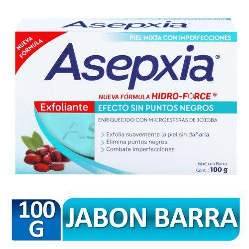Jabón facial antiacne exfoliante