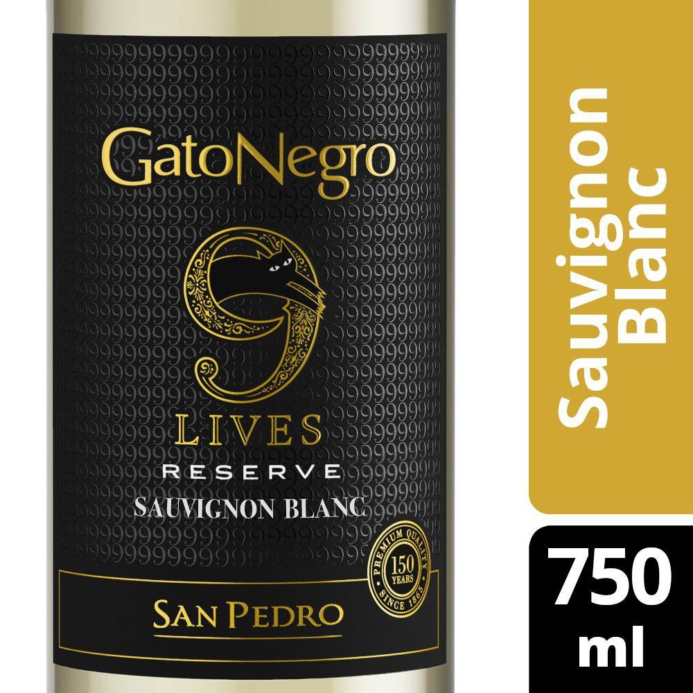 Vino blanco 9 lives reserve sauvignon blanc