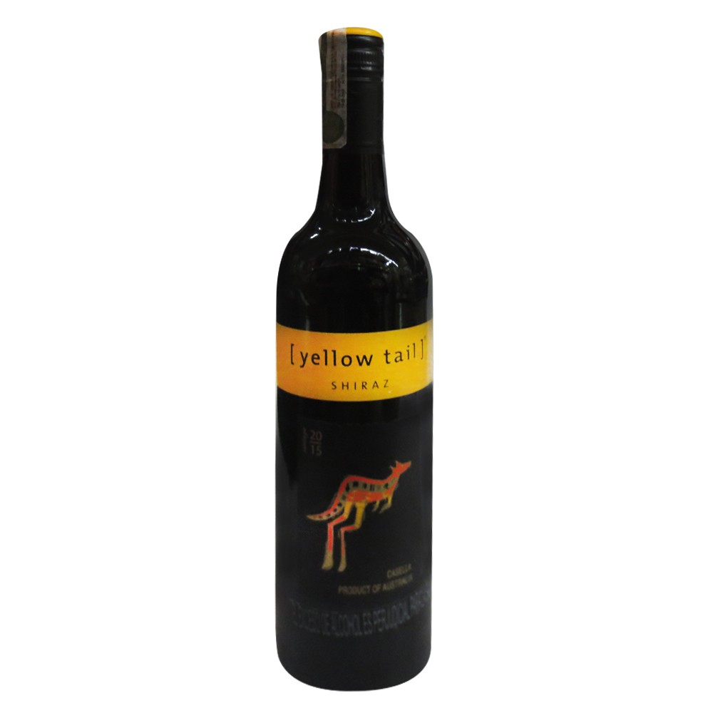 Vino Yellow Tail Tinto Shiraz Bot.X750 ml