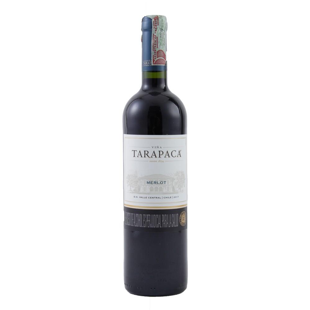 Vino Tarapaca merlot botella