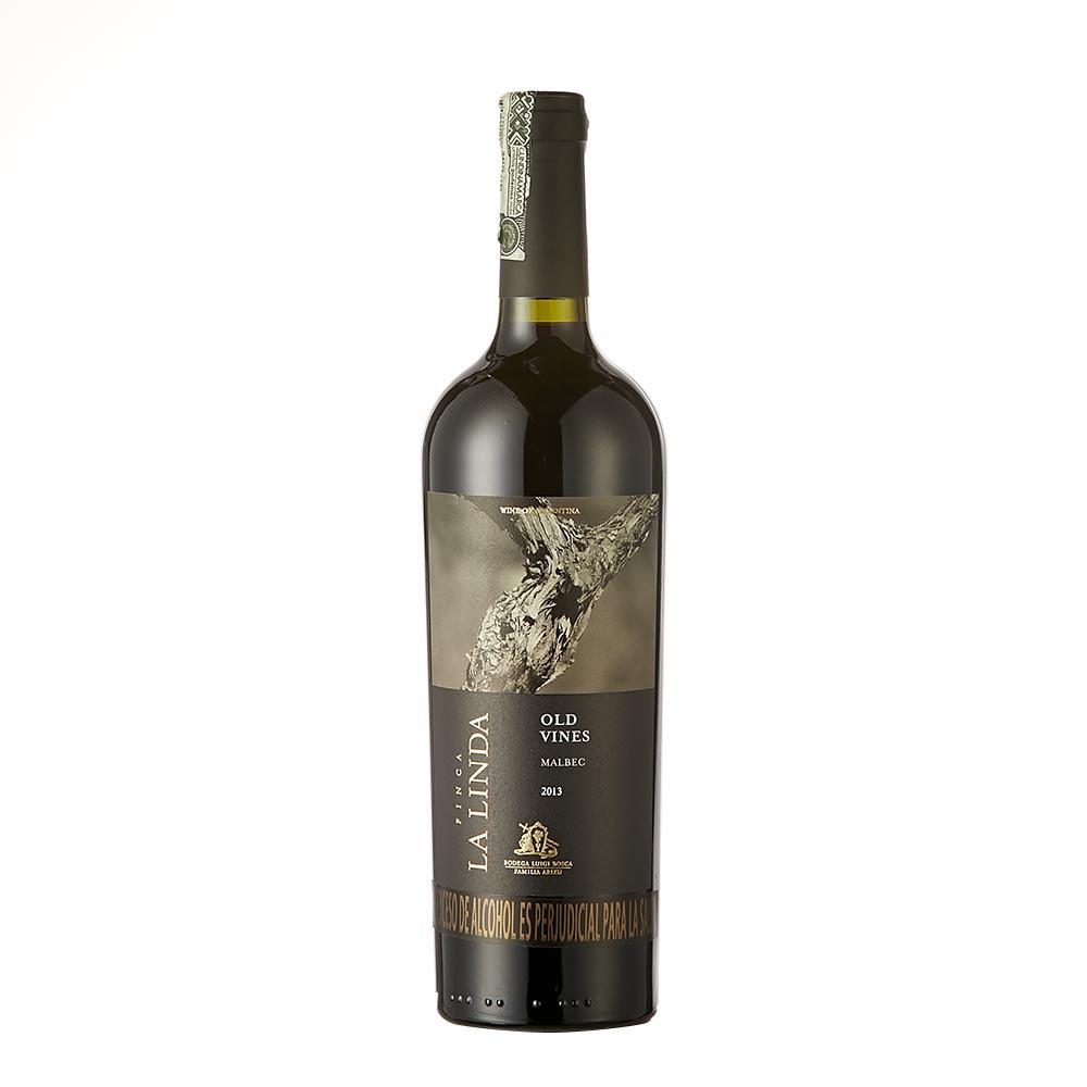 Vino tinto finca la linda old vines malbec