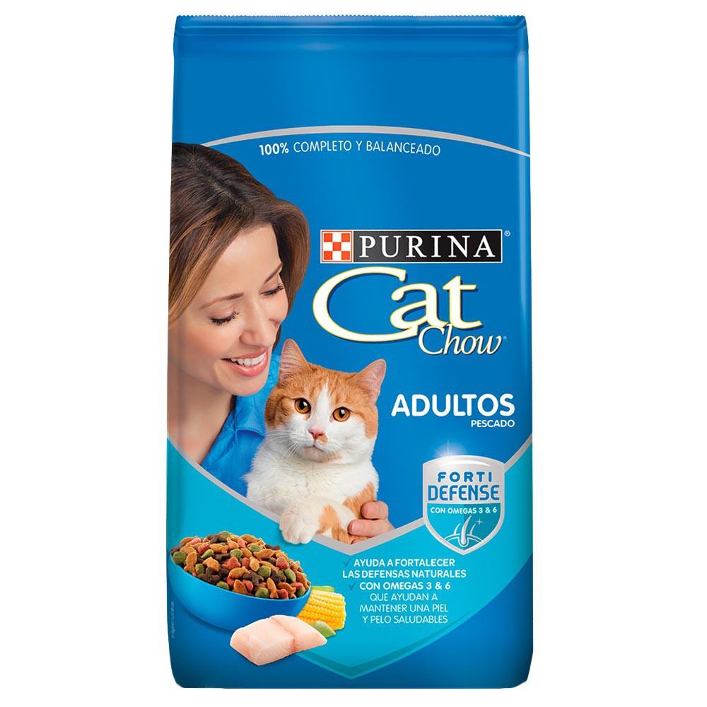 Cat Chow Adulto Pescado Forti Defense 500 Gr 500 g