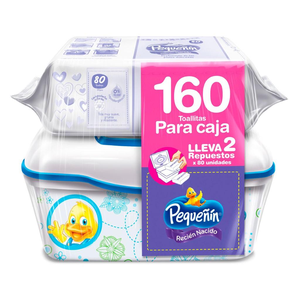 Toallitas húmedas recién nacido gratis caja Pequeñín