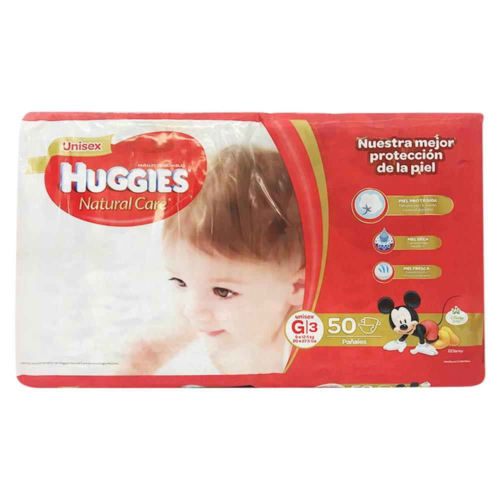 Panal Huggies natural care unisex etapa G