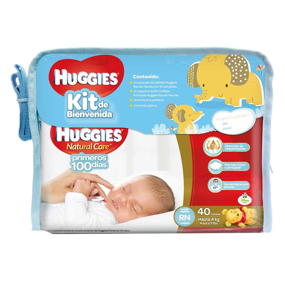Kit bienvenida Huggies x 4 artículos