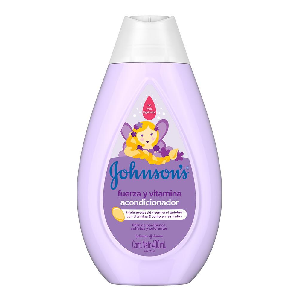 Johnson's baby acondicionador fuerza y vitamina
