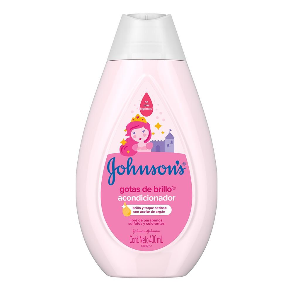 Johnson's baby acondicionador gotas de brillo