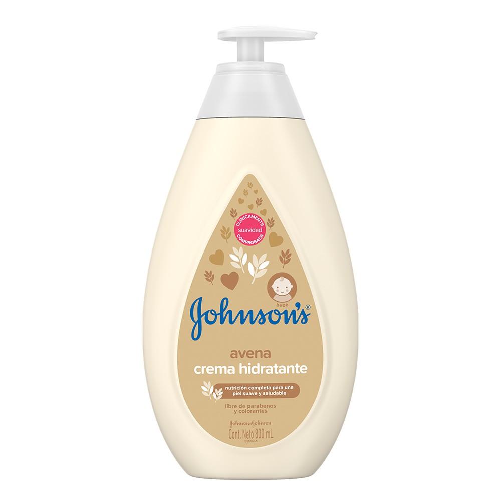 Johnson's baby crema hidratante avena