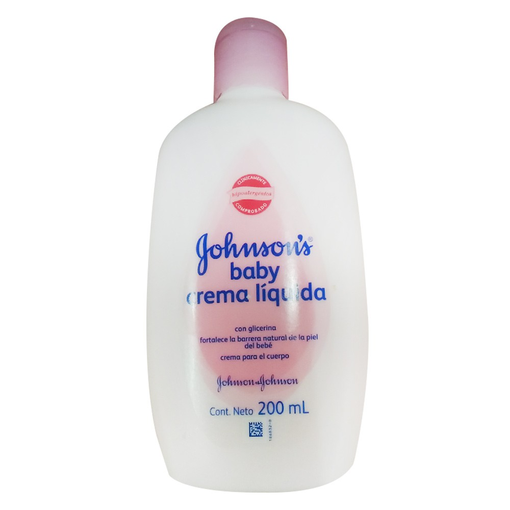 Johnson'sÿbaby crema l¡quida original
