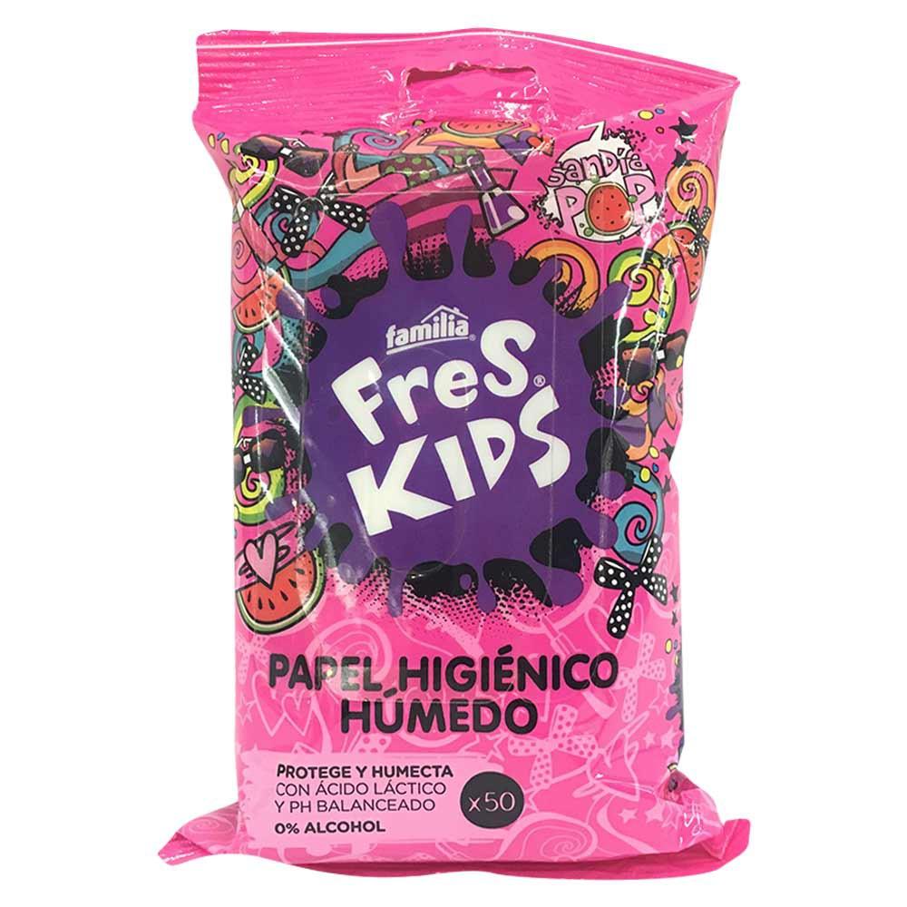 Papel Higiénico Húmedo Freskids Niña