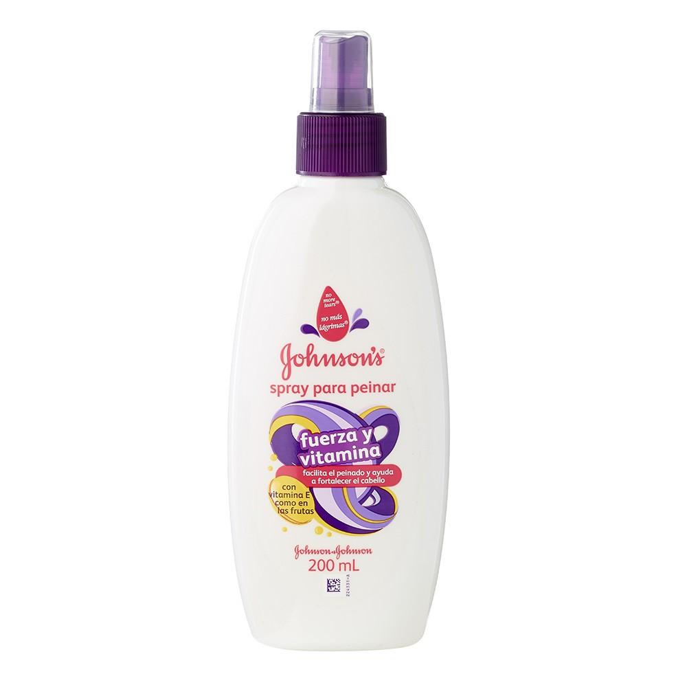 JOHNSON'S®baby spray desenredantefuerza y vitamina 200 ML