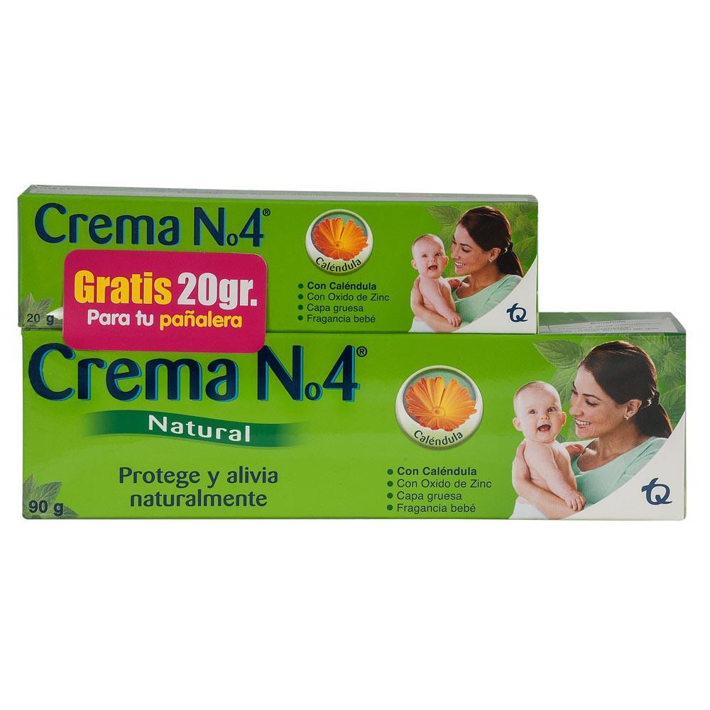 Crema N4 natural tubo x 90 g gratis tubo x 20 g