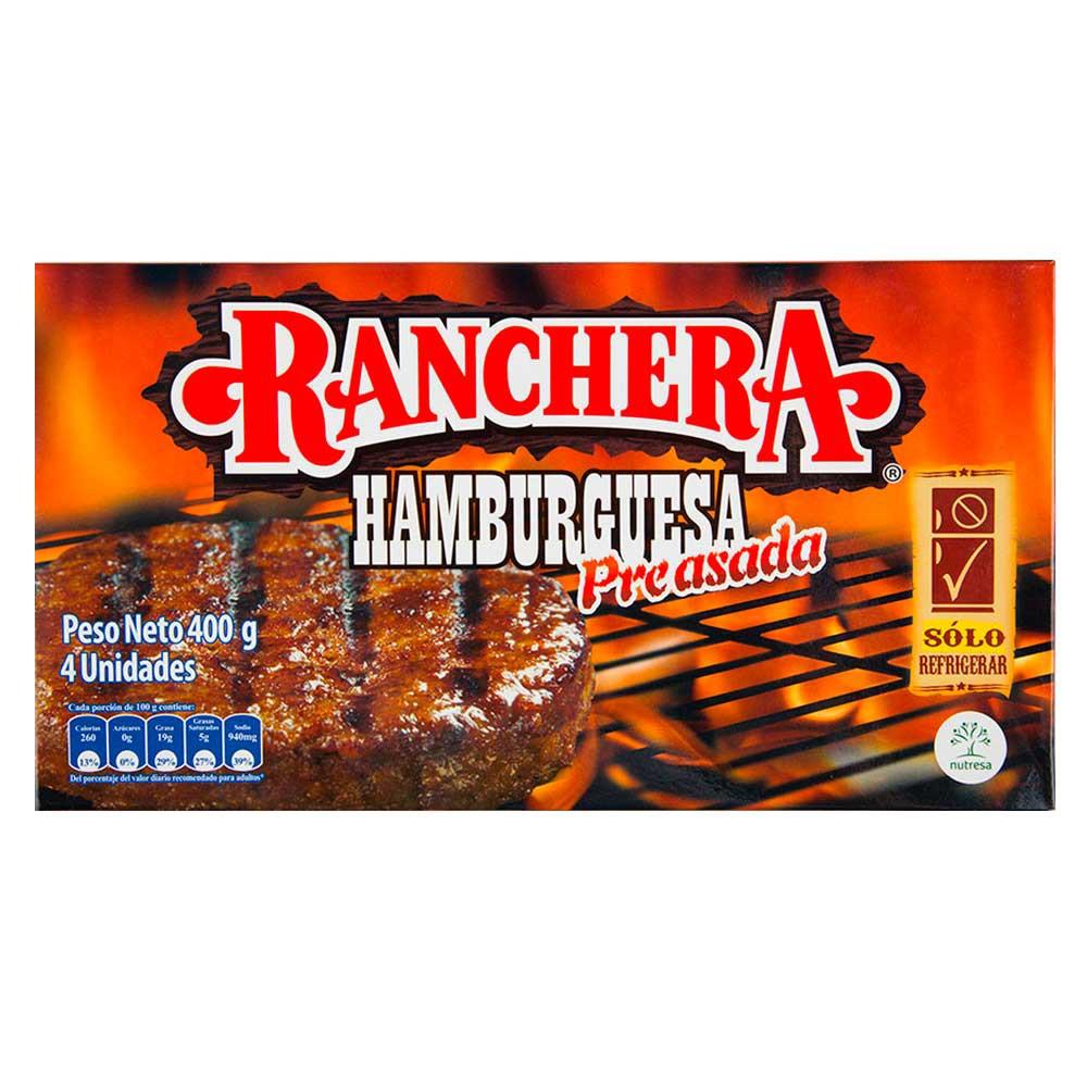 Hamburguesa Ranchera