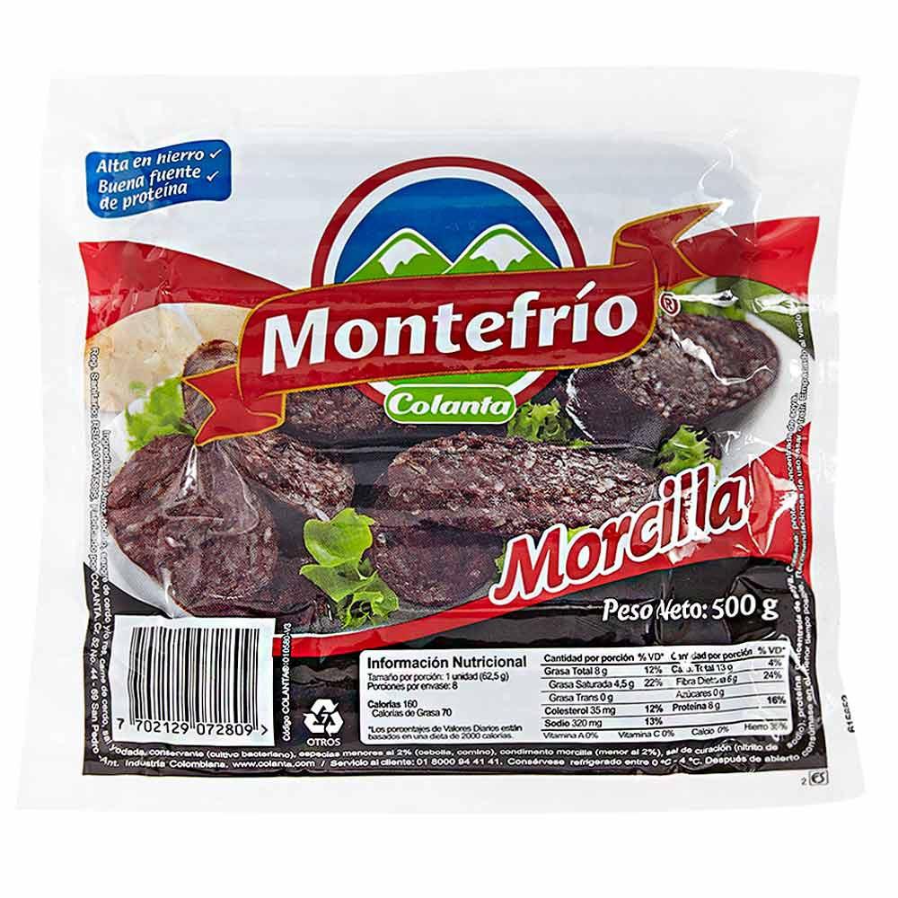 Butifarra Montefrío x 500 g