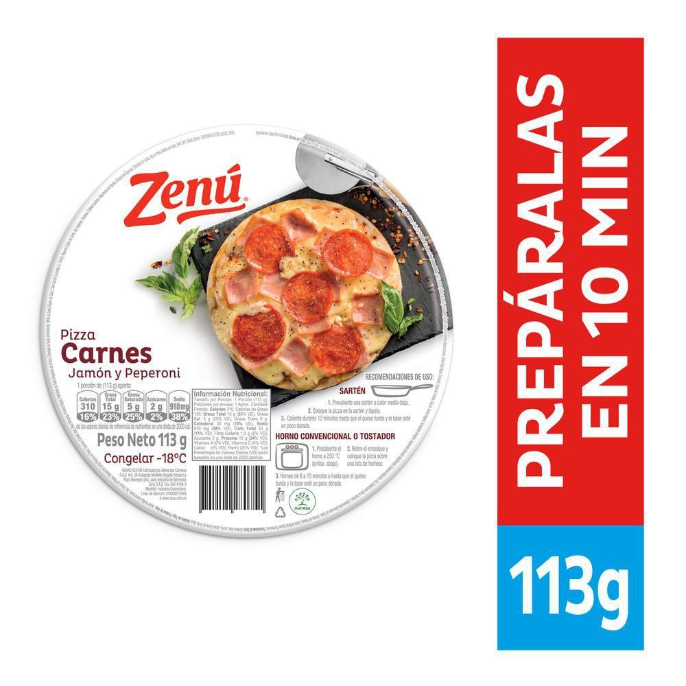 Pizza Zenú carnes
