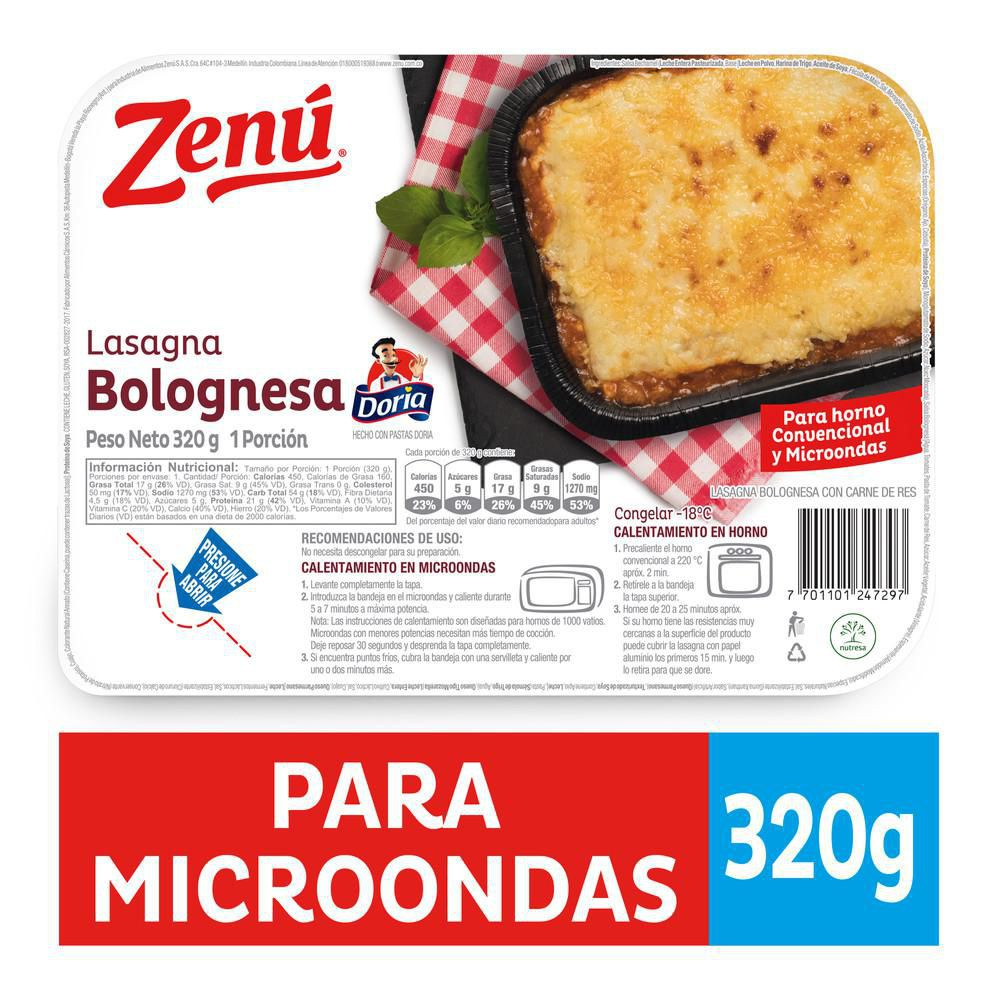 Lasagna zenu bolognesa