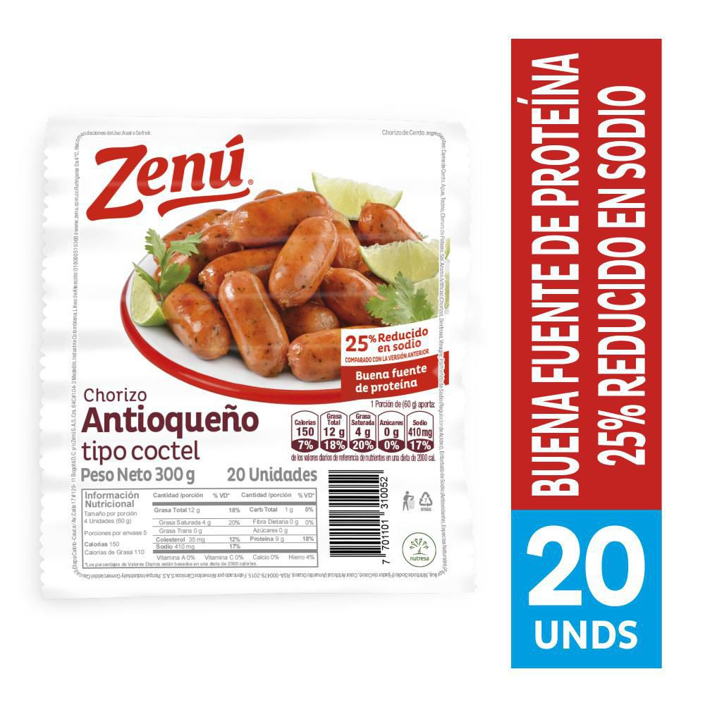 Chorizo Antioqueño Zenú