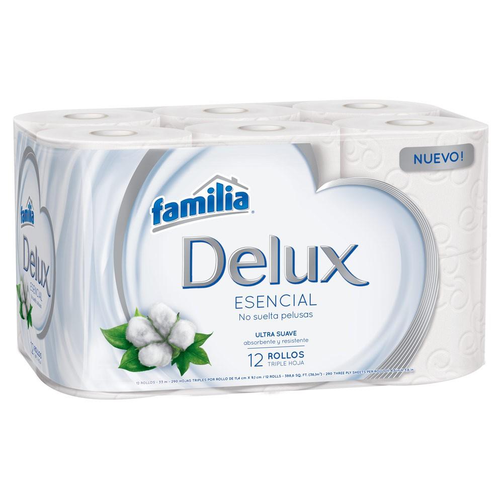 Papel higiénico delux esencial