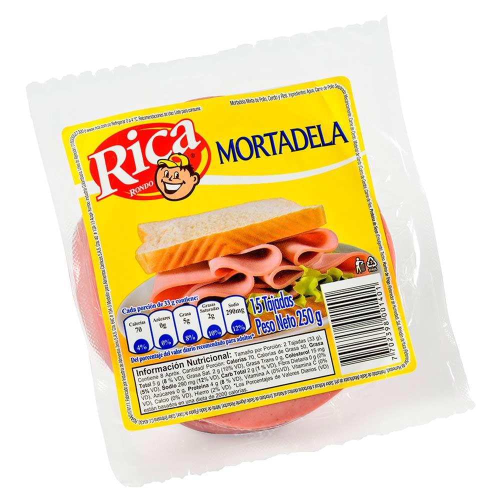 Mortadela Rica pollo