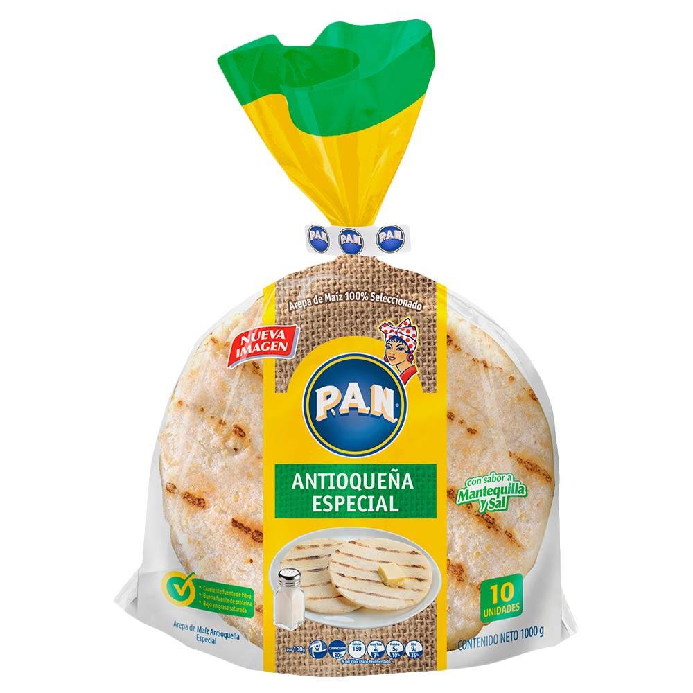 Arepa PAN Antioqueña especial