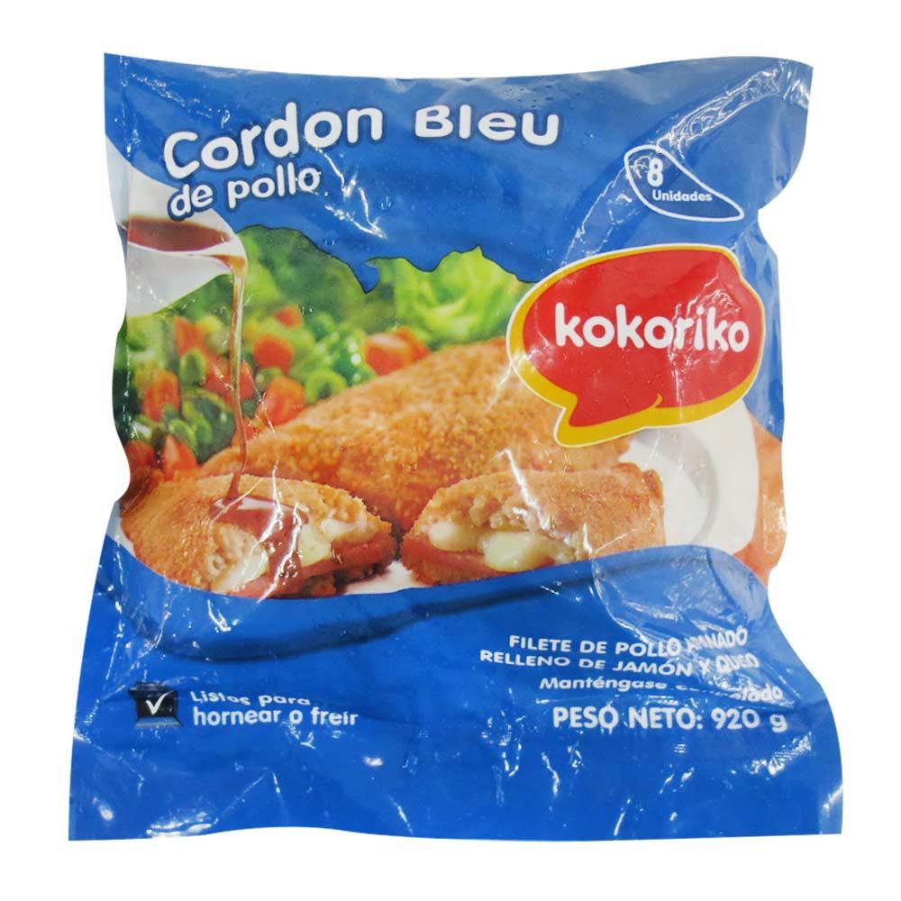 Cordon Blue de Pollo x 8 und