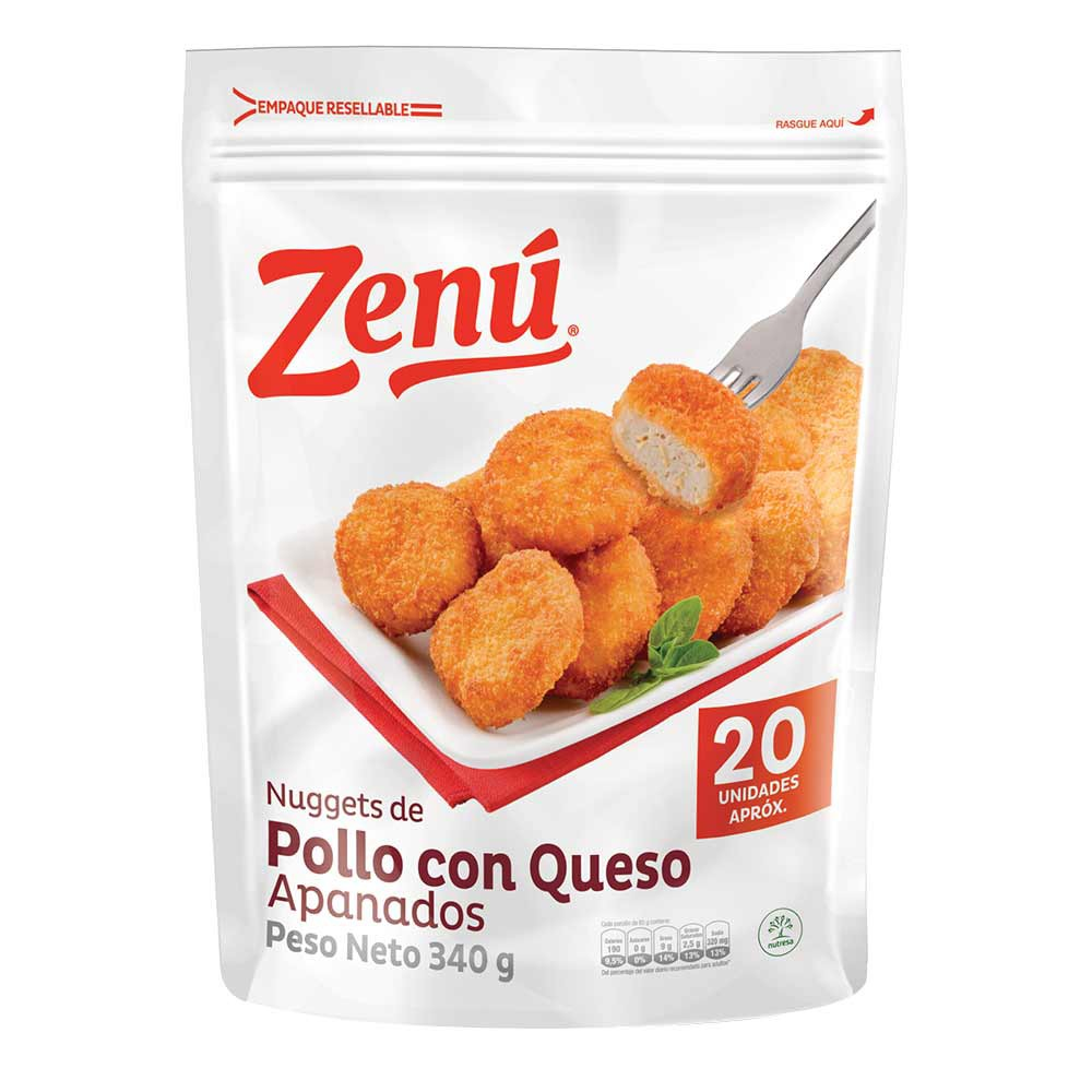 Nuggets de Pollo con Queso Zenú