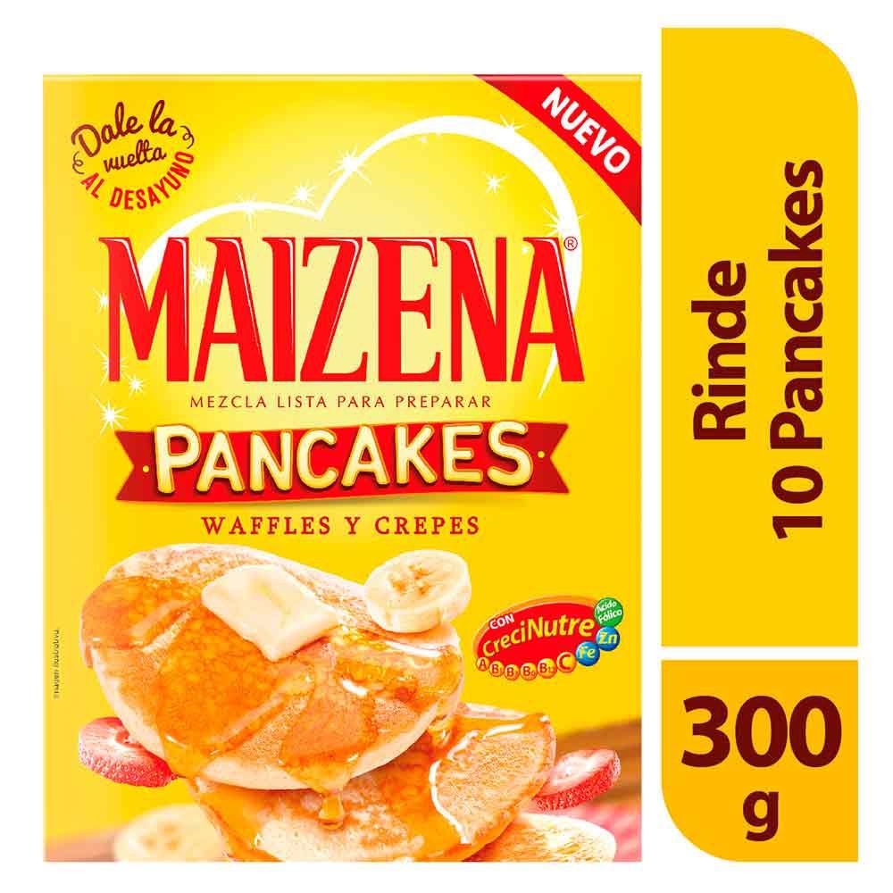 Mezcla lista pancakes crepes waffles Maizena