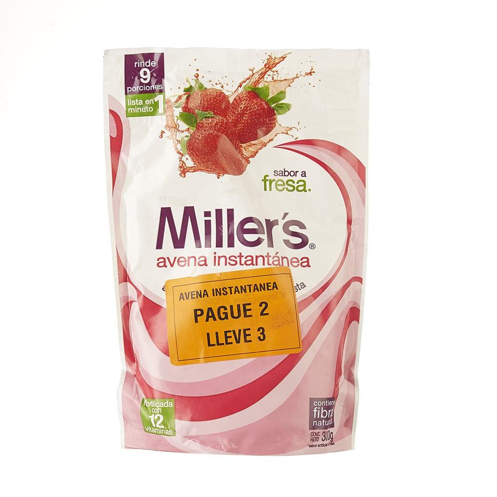 Avena instantánea Millers fresa 300g