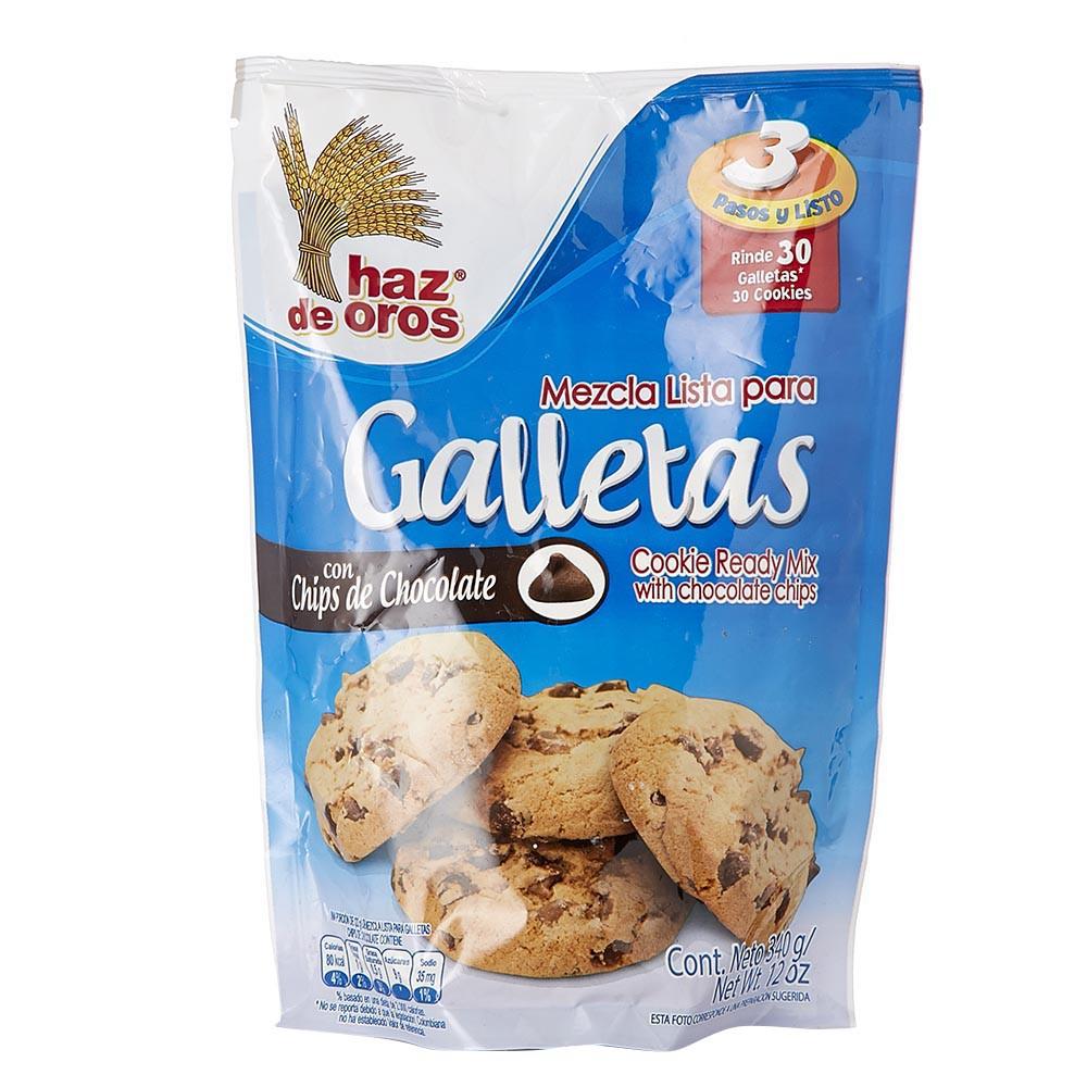 Mezcla Lista Para Galletas Con Chips De Chocolate Haz De Oros