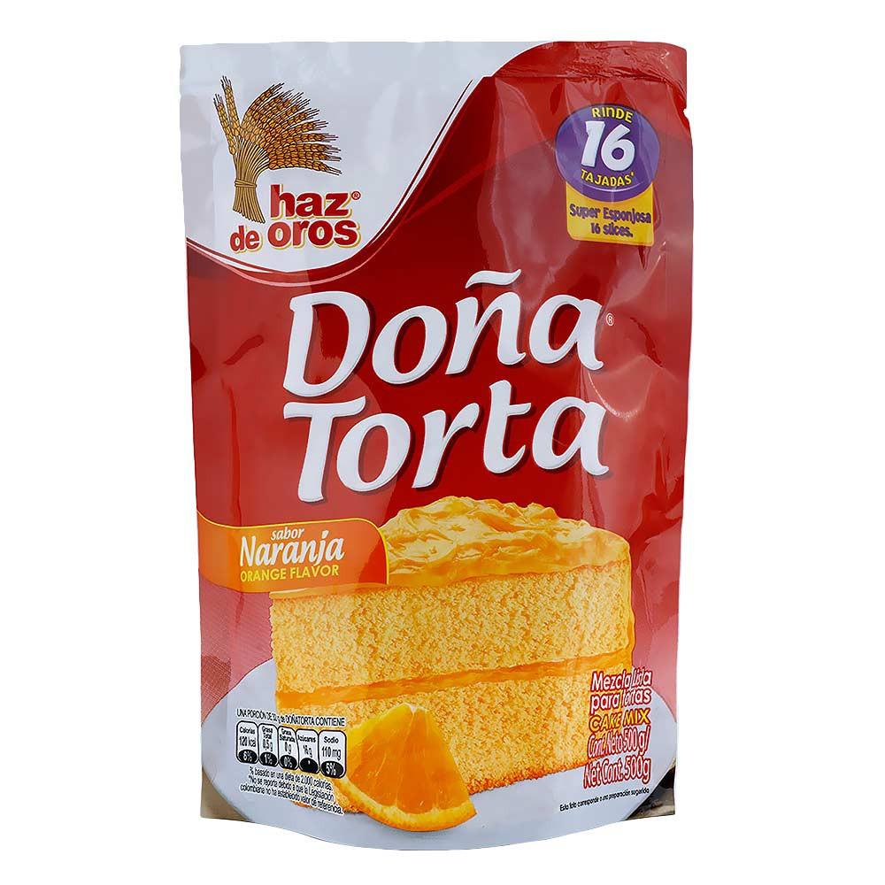 Mezcla Lista Para Tortas Naranja Doña Torta Haz De Oros