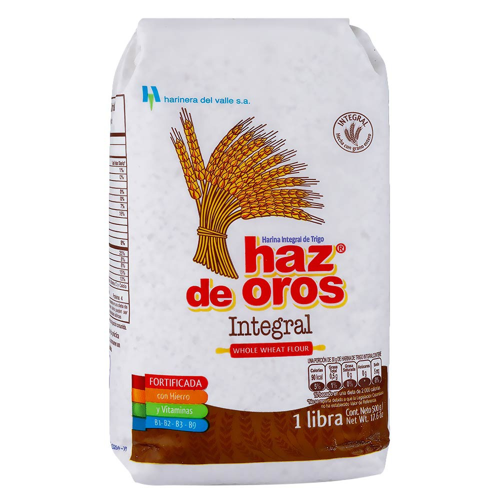 Harina De Trigo Integral Haz De Oros