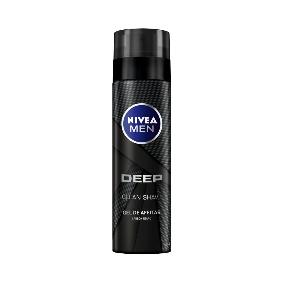 Gel Afeitar Nivea Men Deep Carbon Negro