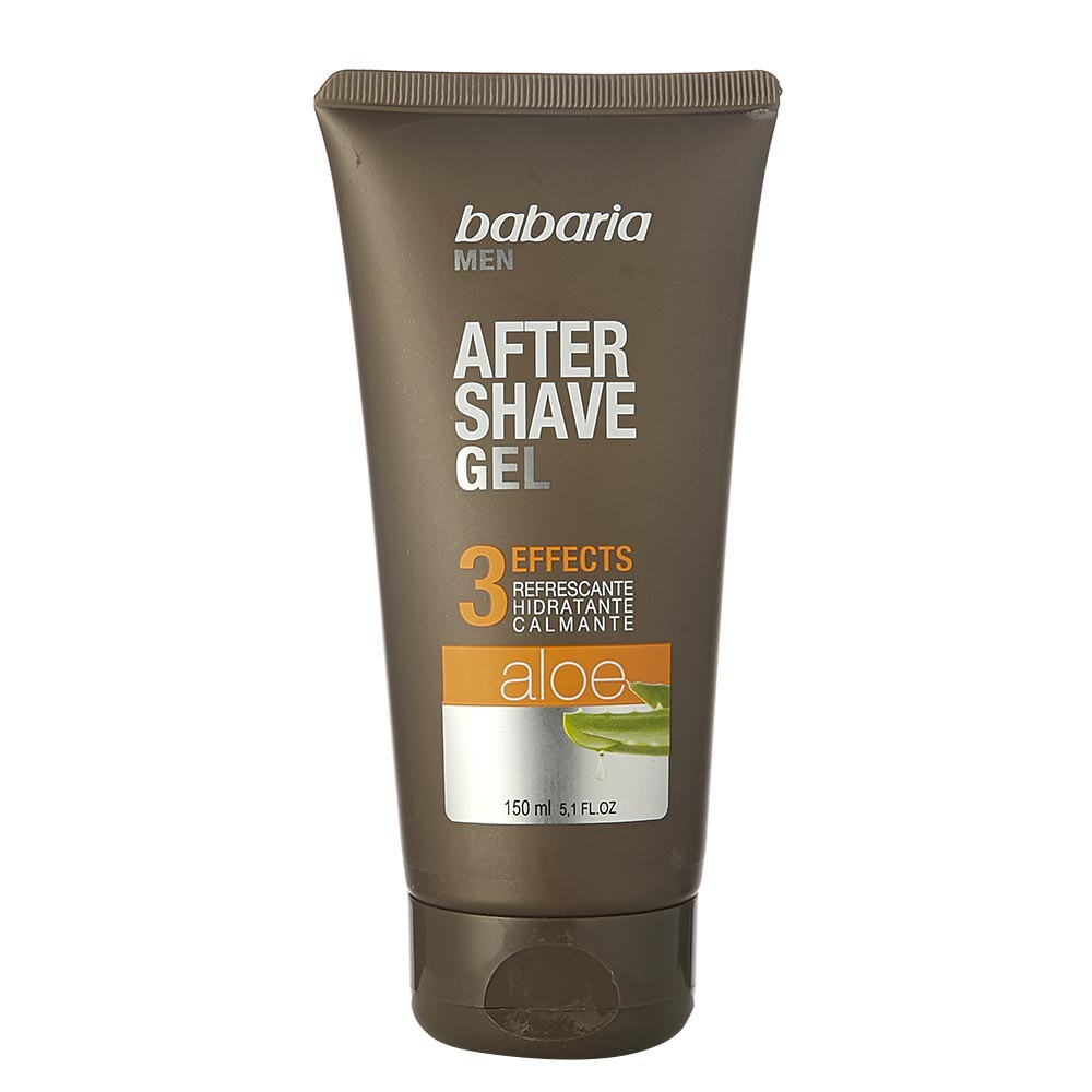 Gel para después de afeitar Babaria 3 effects con aloe