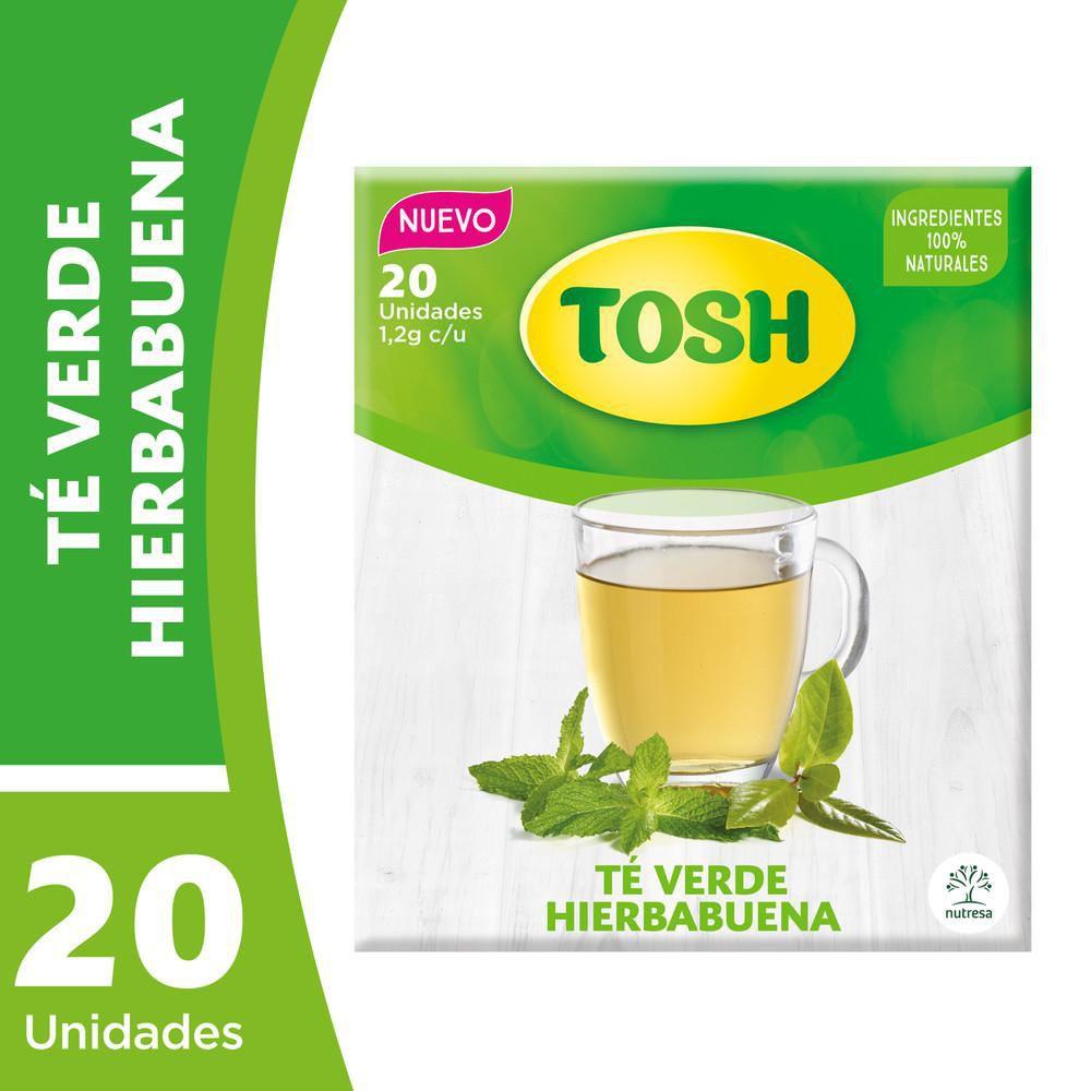 Té Tosh verde hierba buena