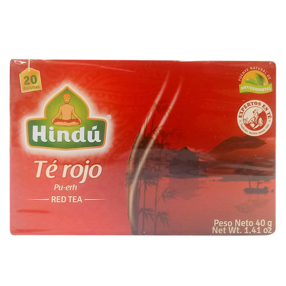 Té Frutos Rojos Hindú x 20 und x 40 g