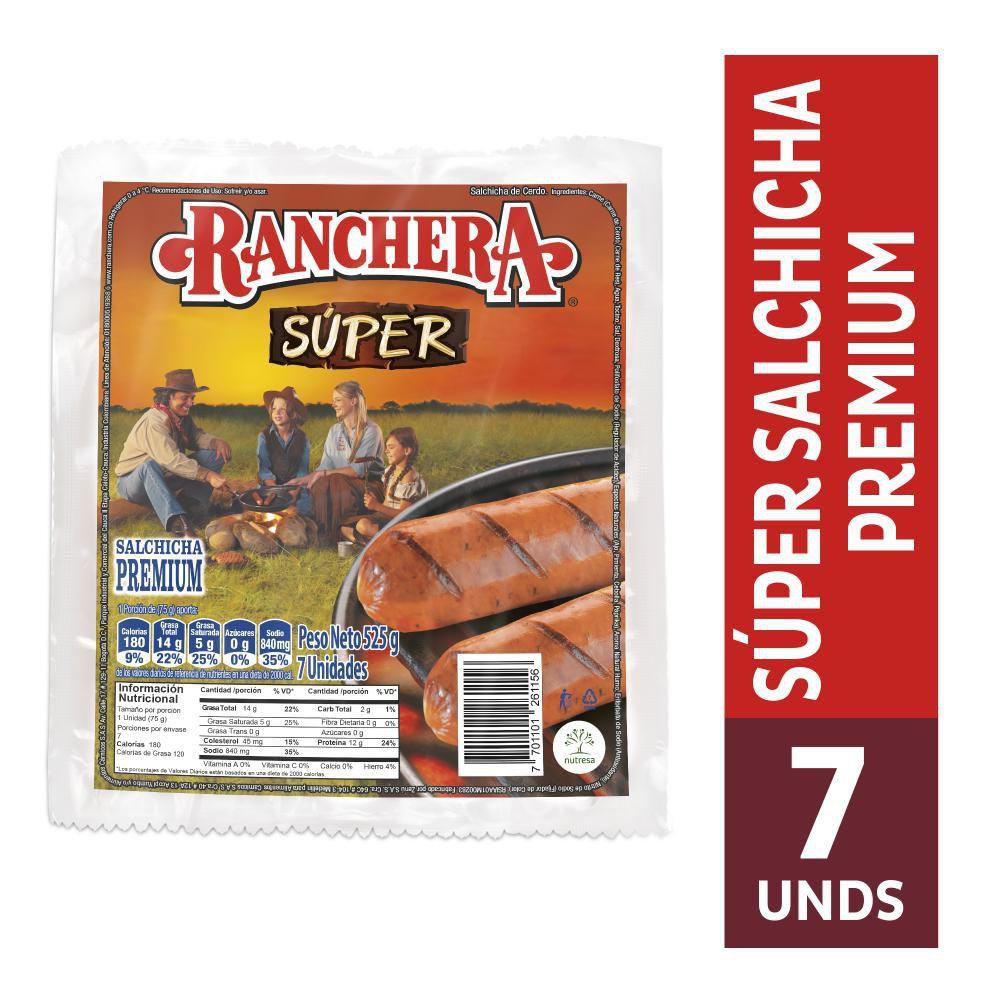 Salchicha Ranchera Súper