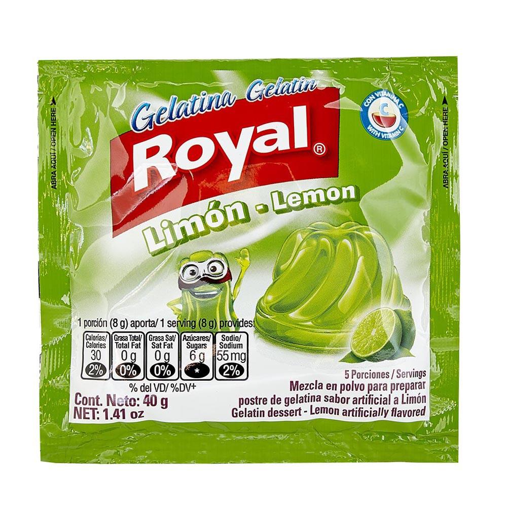 Gelatina Royal Limón