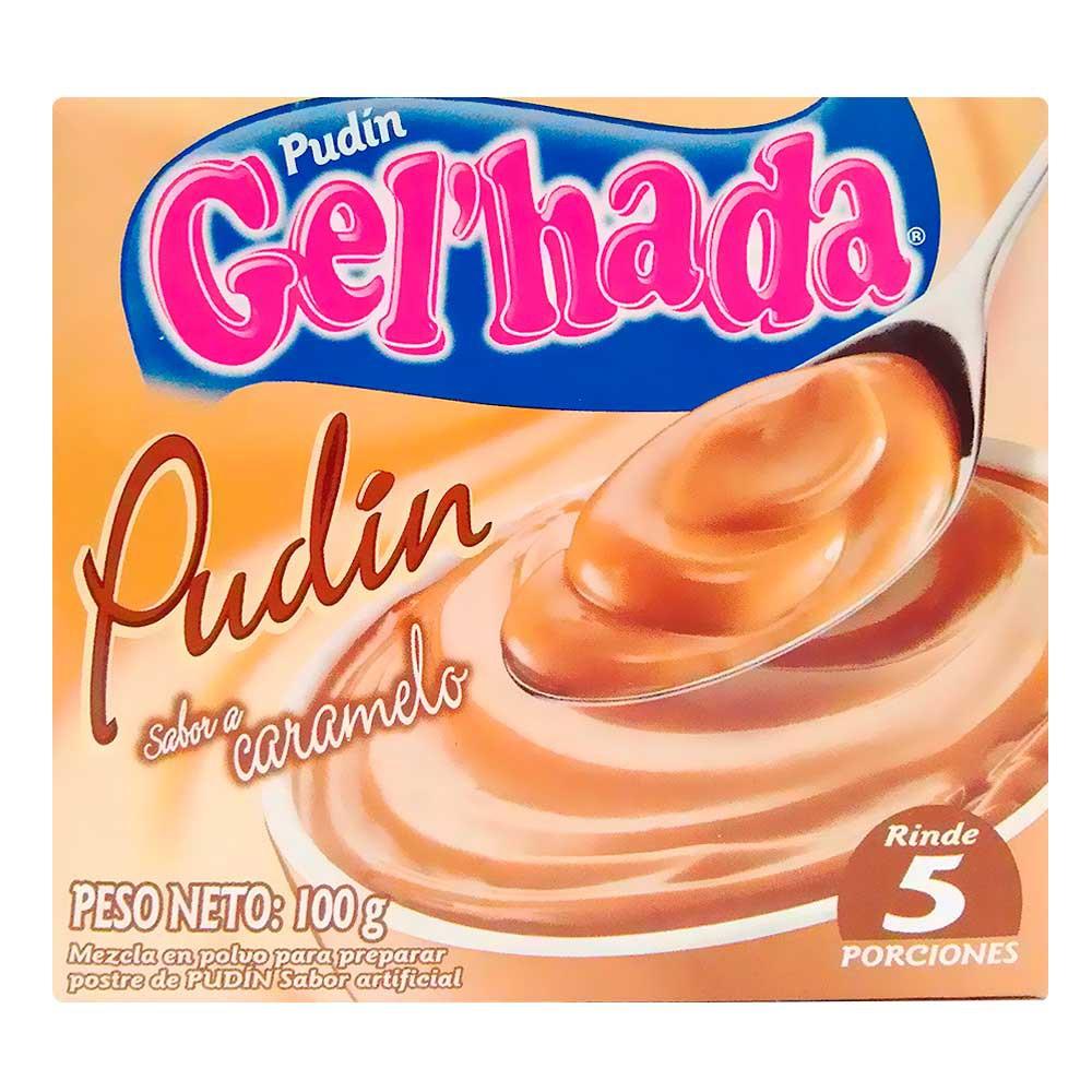 Pudin gel'Hada Sabor Caramelo