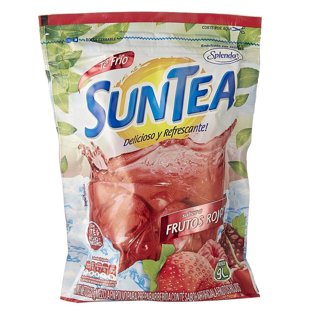 Mezcla té frutos rojos polvo Suntea